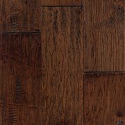 Rawhide Hickory Hand Scraped Engineered Hardwood 3 8in