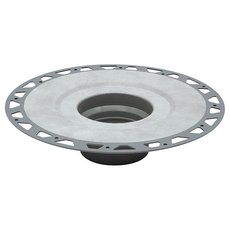 Kerdi-Drain Flange PVC 3in. Outlet Without Seals and Corners