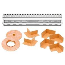 Schluter Kerdi-Line 1-1/8in. Frame 40in. Perforated Grate