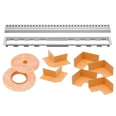 Schluter Kerdi-Line 3/4in. Frame 67in. Perforated Grate