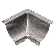 Schluter Dilex-Ehk In Corner 135 Degrees 2-Way Brush Stainless Steel