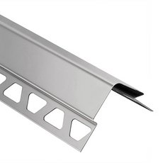 Schluter Eck-E 5/16In. Stainless Steel 8Ft. 2-1/2In.