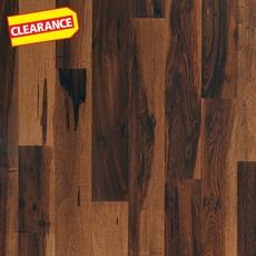 Clearance! Brazilian Pecan Suede Smooth Engineered Hardwood