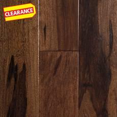 Clearance! Brazilian Pecan Coco Handscraped Engineered Hardwood