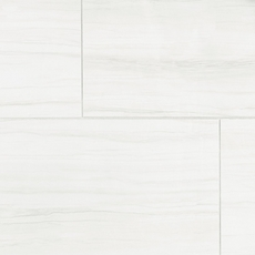 Impress White Polished Porcelain Tile