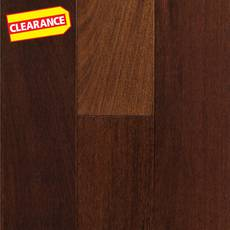 Clearance! Espresso Brazilian Walnut Smooth Solid Hardwood
