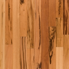 Natural Tigerwood Smooth Solid Hardwood