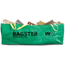 Waste Management Bagster Dumpster in a Bag