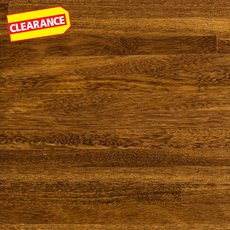 Clearance! Brazilian Chestnut Island Butch Block Island 6ft.
