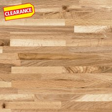 Clearance! Brazilian Oak Butcher Block Countertop 12ft.