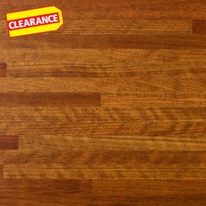 Clearance! Brazilian Cherry Butcher Block Countertop 8ft.