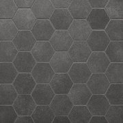 Uptown Antracite Hexagon Porcelain Mosaic