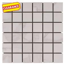Clearance! Dimarmi Bianco Porcelain Mosaic