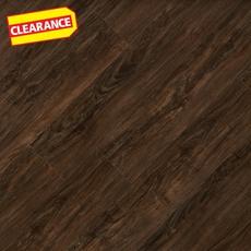 Clearance! Smoked Walnut Hand Scraped Luxury Vinyl Plank