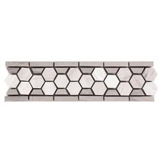 Valentino Hexagon Marble Border