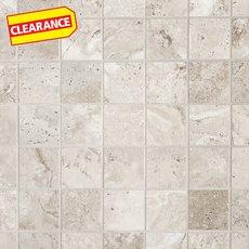 Clearance! Tarsus Almond Polished Porcelain Mosaic