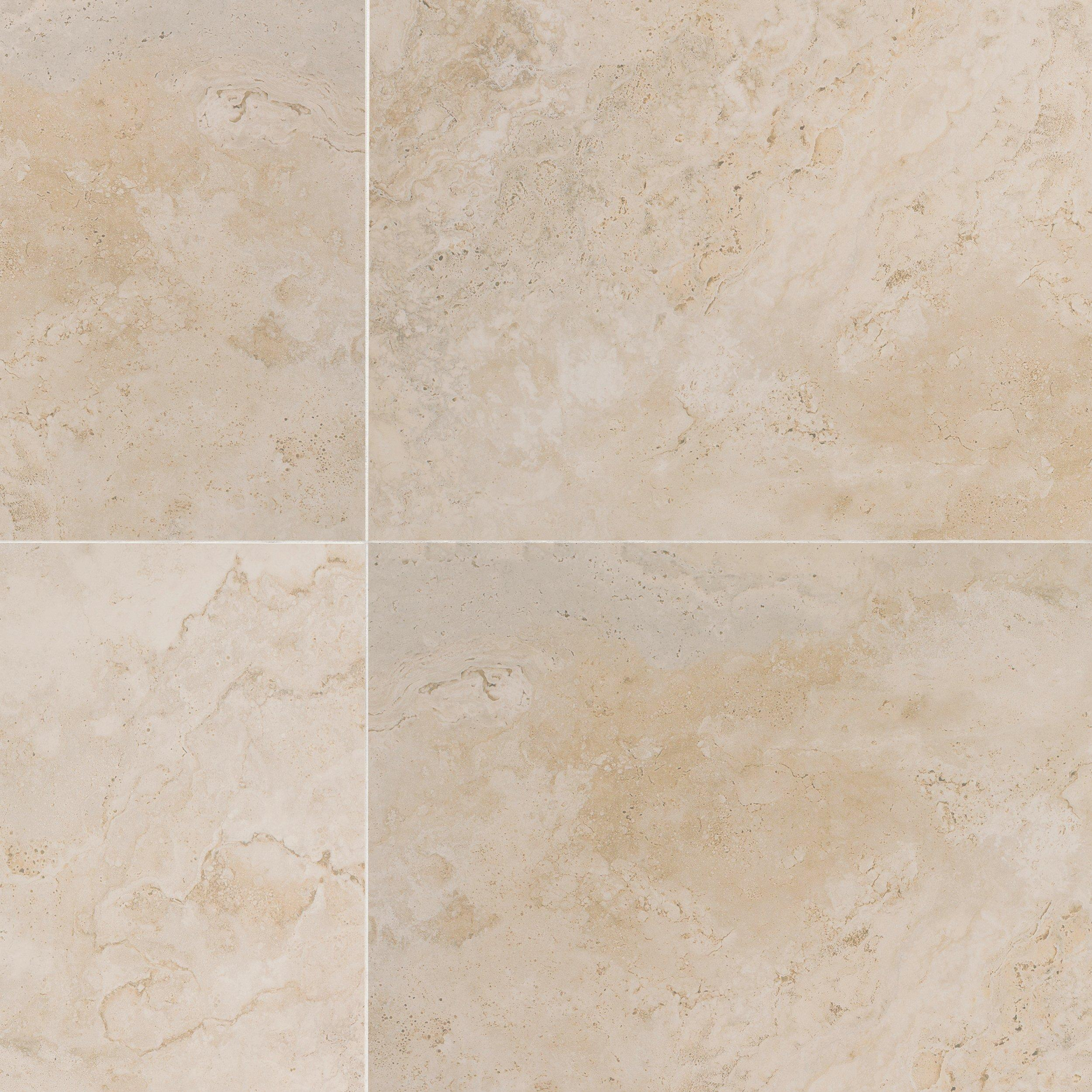 Tarsus Almond Polished Porcelain Tile - 24 x 24 - 100093038 | Floor ...