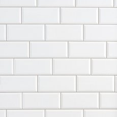 Pure White Polished Ceramic Wall Tile 12 X 24 914101065 Floor