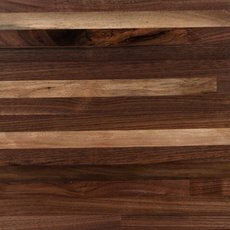 Black Walnut Builder Grade Butcher Block Island 6ft.