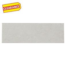 Clearance! Positano Blanco Ceramic Bullnose