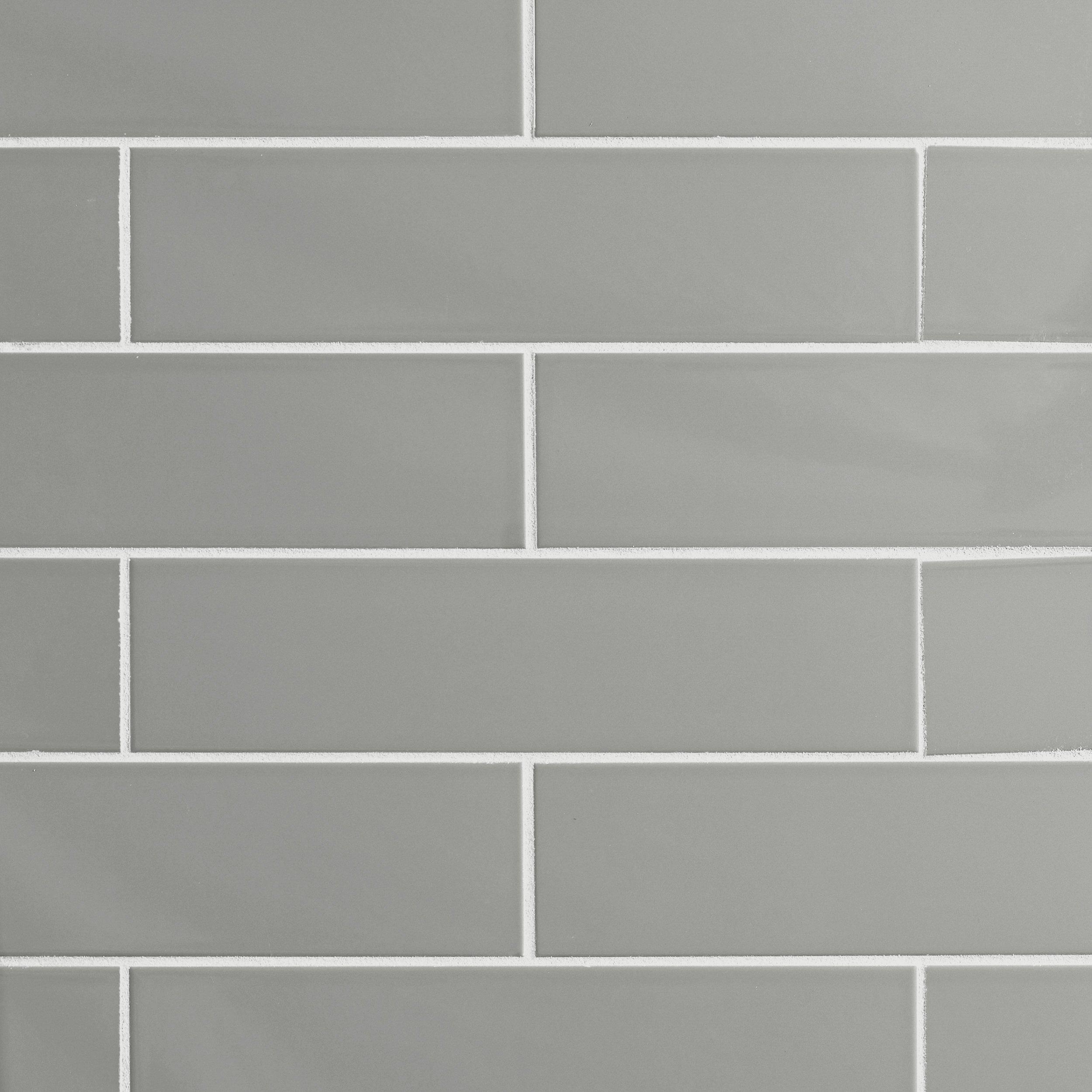 Ceramic tile tile flooring floor decor metro taupe glossy ceramic tile doublecrazyfo Images