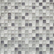 Polar Star 5/8 in. Square Glass Mosaic