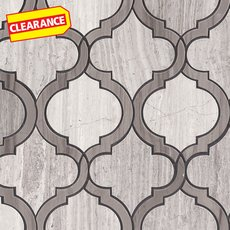 Clearance! Mix Arabesque Waterjet Marble Mosaic