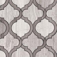 Mix Arabesque Waterjet Marble Mosaic