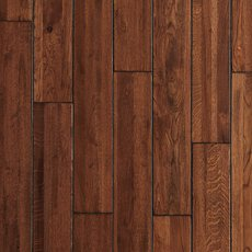 Villa Oak Hand Scraped Solid Hardwood