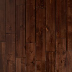 Mocha Birch Hand Scraped Solid Hardwood