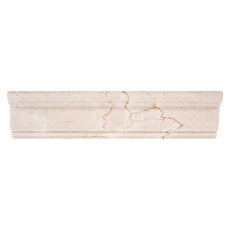 Crema Marfil Marble Chair Rail