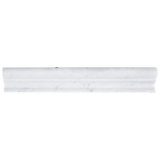 Bianco Carrara Marble Chair Rail