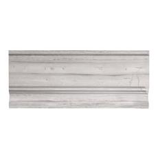Valentino White Marble Base Molding