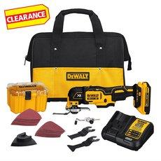 Clearance! DeWalt 20V MAX Oscillating Multi Tool Kit