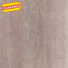 Clearance! Snow Walnut Hand Scraped Wire Brushed Engineered Hardwood