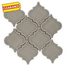 Clearance! Willow Arabesque Porcelain Mosaic
