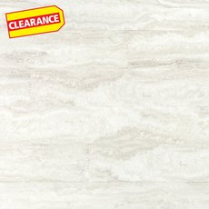 Clearance! Artic White Groutable Vinyl Plank Tile
