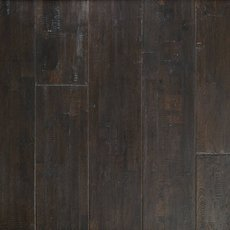 Burke Brown Oak Hand Scraped Wire Brushed Solid Hardwood
