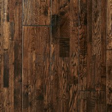 Roanoke Oak Hand Scraped Wire Brushed Solid Hardwood