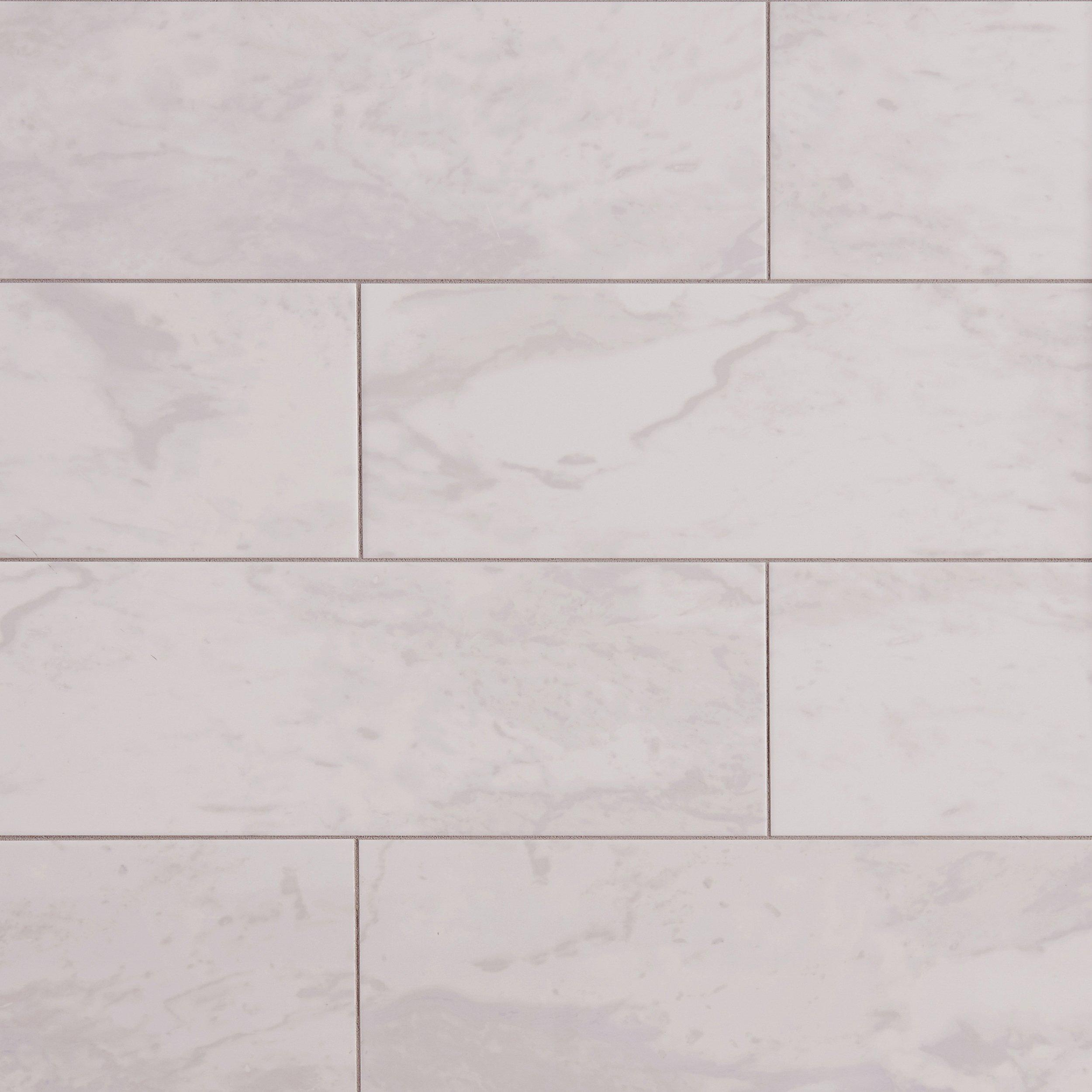 Wall tile decoratives floor decor classic carrara ceramic wall tile dailygadgetfo Images