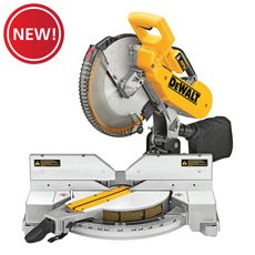 New! DeWalt 12 in. Double Bevel Compound Meter Saw