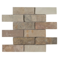Autumn Brick Slate Mosaic