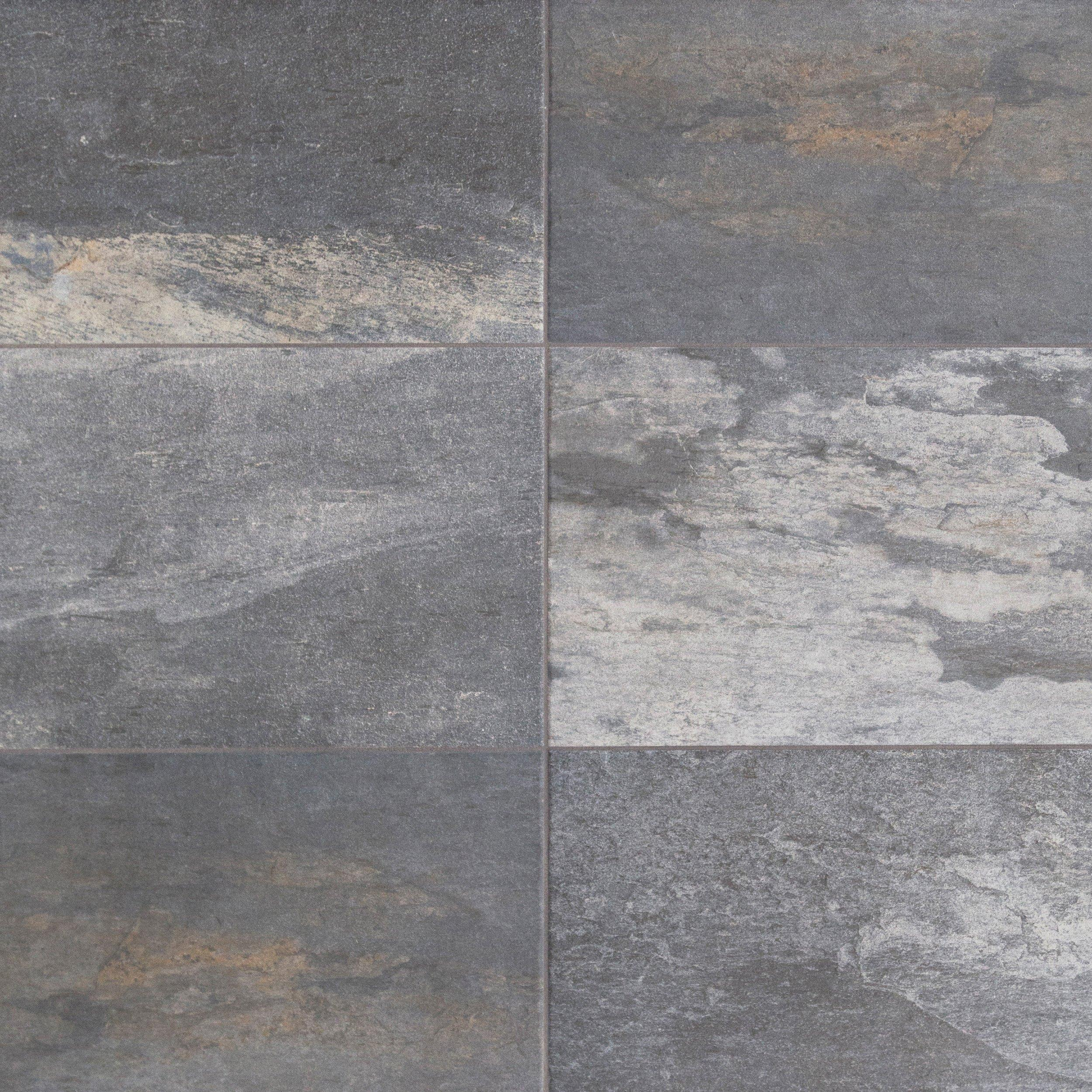 Meridian slate gray porcelain tile 6 x 24 100190156 floor and meridian slate gray porcelain tile dailygadgetfo Images