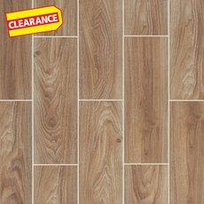 Clearance! Cumberland Cafe Wood Plank Ceramic Tile