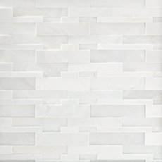 Lexington White Honed Quartzite Panel Ledger