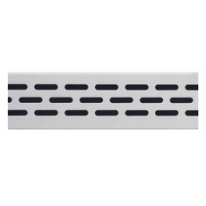 Compotite 36in. Oval Design Stainless Steel Grate