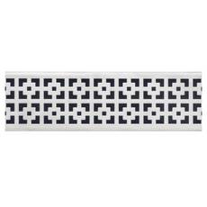 Compotite 36in. Mission Design Stainless Steel Linear Drain Grate