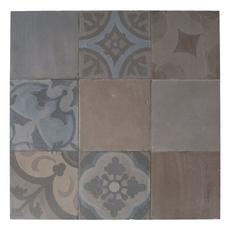 Terracotta Fredda Deco Porcelain Tile