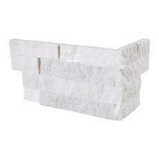 Glacier Slate Corner Panel Ledger