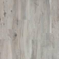 Hard Gray Wood Plank Porcelain Tile